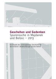 Projektinformation 2013 - Friedrich-v.Bodelschwingh-Schulen