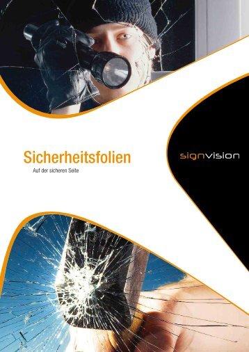 Sicherheitsfolien PDF (552 Kb) - Signvision