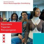 Bijzondere Trajecten Risicojongeren brochure - Een veilig Amsterdam