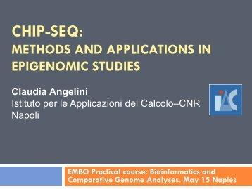Chip-Seq: Methods and applications in epigenomic studies