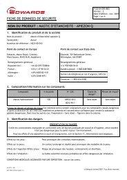 mastic d'etancheite – apiezon q - Edwards