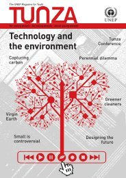Tunza Vol. 5 No. 3: Technology and the Environment - UNEP