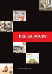 NZ 's Premier kitchen Facelift Company - Dream Doors Kitchens