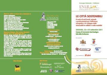 Locandina dell'evento - Comune di Sassari