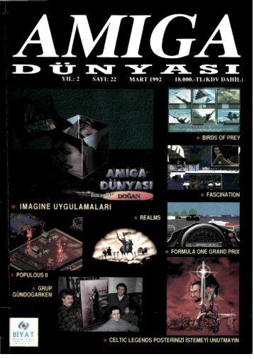 Amiga Dunyasi - Sayi 22 (Mart 1992).pdf - Retro Dergi