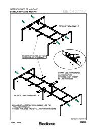 BENCH OTTIMA - Steelcase