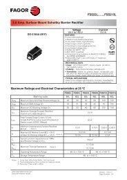 FSS22L........FSS215L 2.0 Amp. Surface Mount ... - Fagor Electrónica