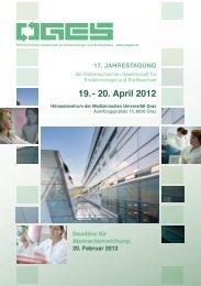 19. - 20. April 2012