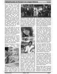 Hellasfreunde am Konzert von Jorgos Dalaras - Hellasfreunde Bern