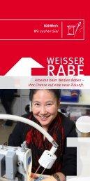 Flyer für Bewerber ca. 116 kb - Weisser Rabe