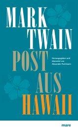 MARK TWAIN POST AUS HAWAII
