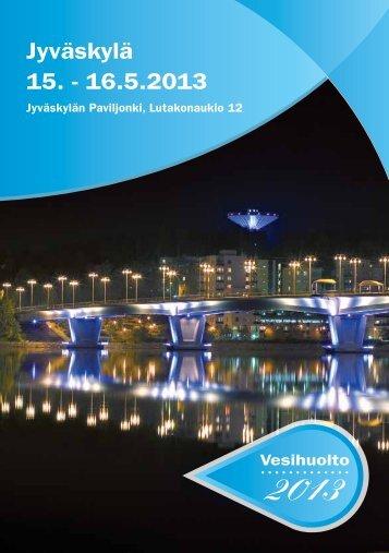 Vesihuolto 2013 - Yhdyskuntatekniikan näyttely