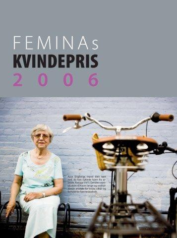 FEMINAs KVINDEPRIS 2 0 0 6 - Hjerneskadeforeningen