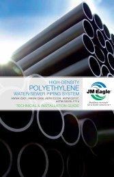 Polyethylene Water/Sewer - JM Eagle