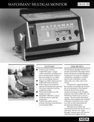 WATCHMAN® MULTIGAS MONITOR - Vci-analytical.com