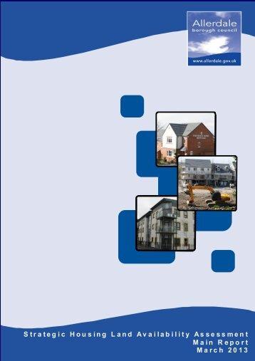 SHLAA - Allerdale Borough Council