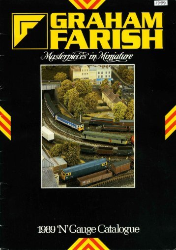 Graham Farish 1989 Catalogue