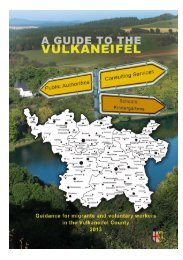Guide to the Vulkaneifel - FORUM EINE WELT eV