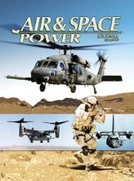 Spring 2005 - Air & Space Power Chronicle