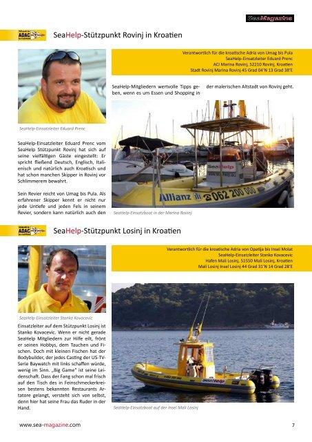 Mitgliedschaften auch an ACI-Marina-Rezep onen Boot ... - Sea-Help
