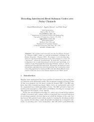 Decoding Interleaved Reed Solomon Codes over Noisy Channels