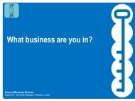 What business are you in? - CoreNet Global