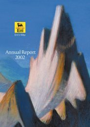 Annual Report 2002 - Eni