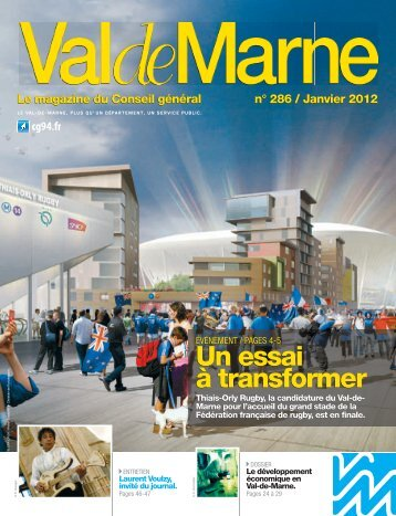 VDM gabarit - Conseil général du Val-de-Marne