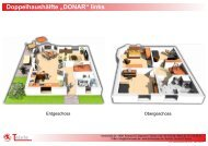 Grundriss DONAR (Doppelhaushälfte links) - Thiele ...