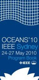 Program Book - Oceans'10 IEEE Sydney
