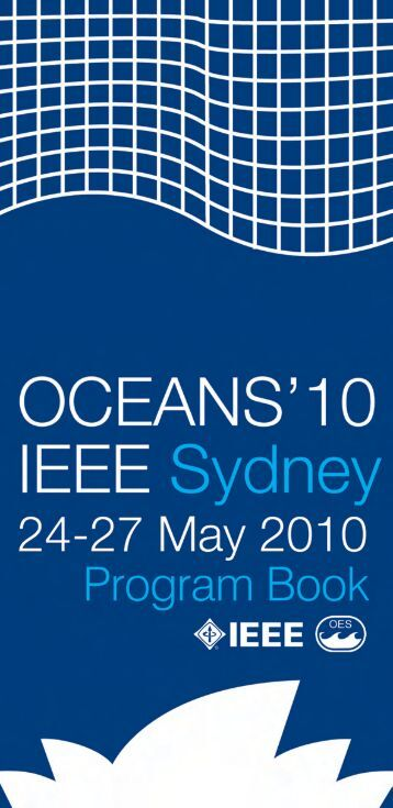 Program Book - Oceans'10 IEEE Sydney