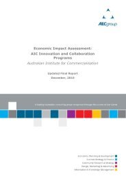 to view the full report - The Australian Institute for Commercialisation