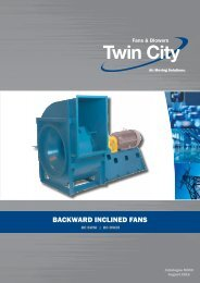 BC - SWSI & DWDI Backward Inclined - Catalogue M300 (Metric)