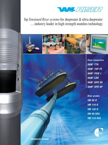 Production Riser - VAM Services