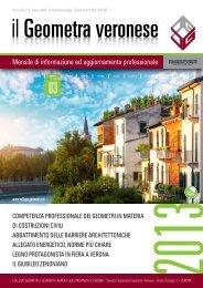 n. 3 MARZO 2013 - Collegio dei Geometri della Provincia di Verona