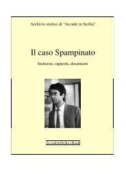 Il caso Spampinato - DIDAweb