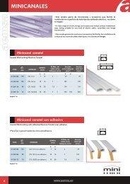 Mini System. Minicanal Canatel. Catálogo - Schneider Electric
