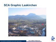 SCA GRAPHIC LAAKIRCHEN AG - SCA Forest Products AB