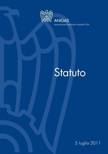 Statuto Anigas 5 luglio 2011