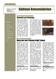 2. Ausgabe - Oase der Vier Palmen