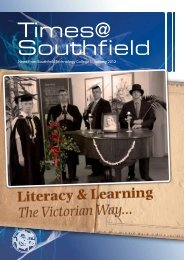 Newsletter - January 2012 - Southfield Technology College