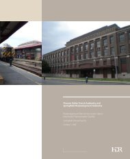 2008 Union Station Redevelopment Plan - City of Springfield