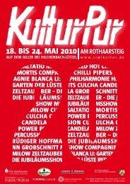 18. BIS 24. MAI 2010 - siwikultur.de