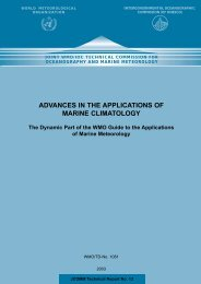 advances in the applications of marine climatology - icoads - NOAA