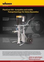 PlastCoat 430 - kompakte und mobile ... - WAGNER-Group