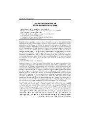 CAS PATHOLOGIQUES DE DEUX BATIMENTS A L'ENIT و ا ا دار م ا د ا ...