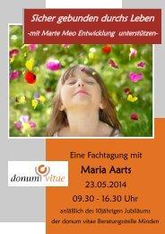 Maria Aarts - Marte Meo International
