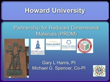 Howard University - PREM