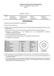 Einbauanleitung AC | Elektrosatz für Suzuki Wagon ... - Bertelshofer