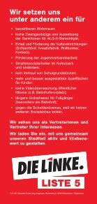 Flyer Ortsbeiratswahl Südost - DIE LINKE. Wiesbaden - Seite 2
